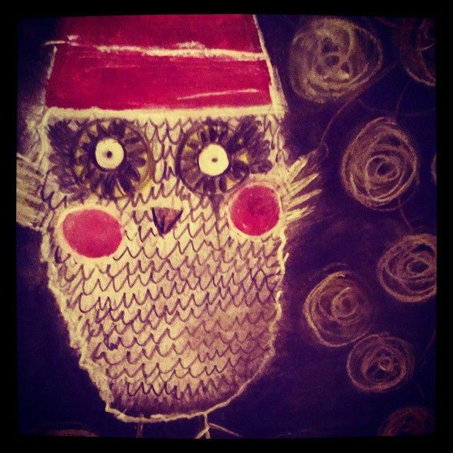X-mas owl