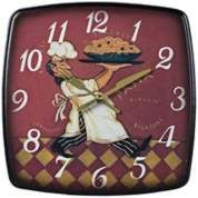 "Wine Bottles 13"" Wide Beige Wall Clock - #2C392 