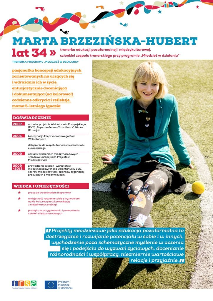 """Step by step - active way"" / Marta Brzezińska-Hubert"