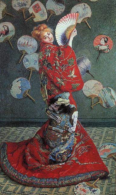 Claude Monet - La Japonaise (Camille Monet in Japanese Costume)