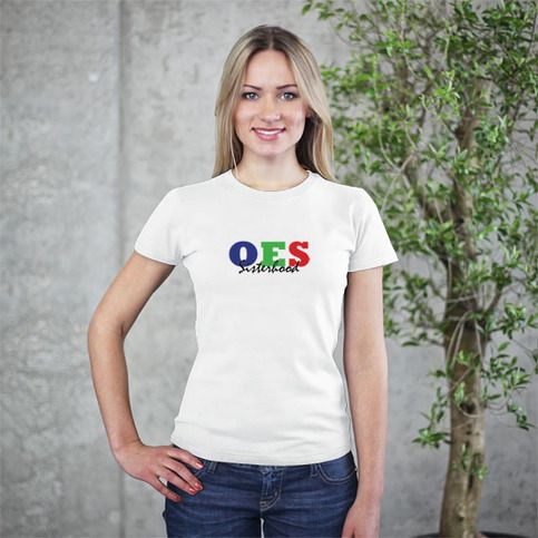 Express your love of OES and Sisterhood with this soft, comfy t-shirt! A portion of the proceeds from each shirt will be used to establish a scholarship fund for graduating seniors in the International Masons and Order of the Eastern Stars Youth Department.  This is the smoothest and softest t-...