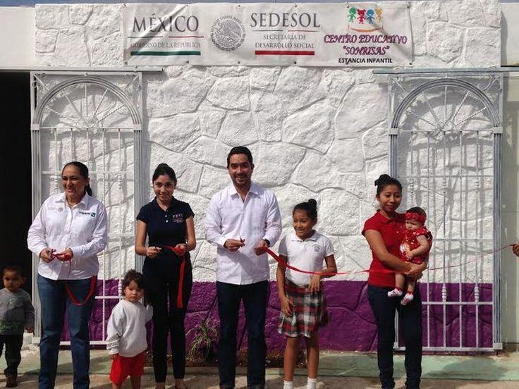 La Delegación De Sedesol En Yucatán Duplicará El Número De Aperturas De Estancias Infantiles Para Madres Trabajadoras