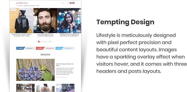 Download Lifestyle Magazine WorPress Theme - mythemeshop