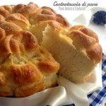 Centrotavola di pane per le feste simil pan brioche