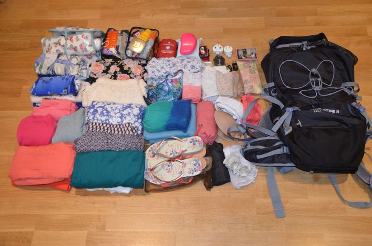 Packing list for Australia, New Zealand and Asia: what to bring and what not to bring