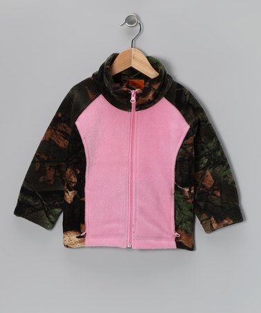 Love this Trail Crest Pink Camo Jacket - Infant, Toddler & Girls by Trail Crest on #zulily! #zulilyfinds