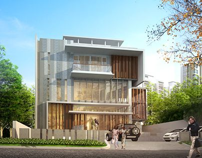"Check out new work on my @Behance portfolio: ""Wungu Residence"" http://on.be.net/1NeKSWF"