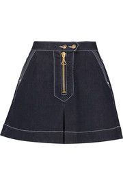 Ellery El Topo denim mini skirt