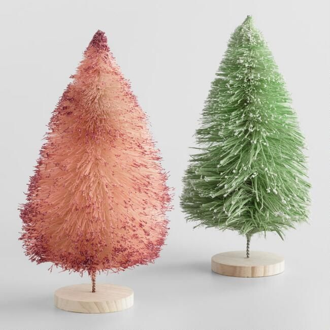 7 Places To Buy Affordable Bottle Brush Trees This Season Bottle Brush Christmas Trees Christmas Tree Decorations Christmas Decorations