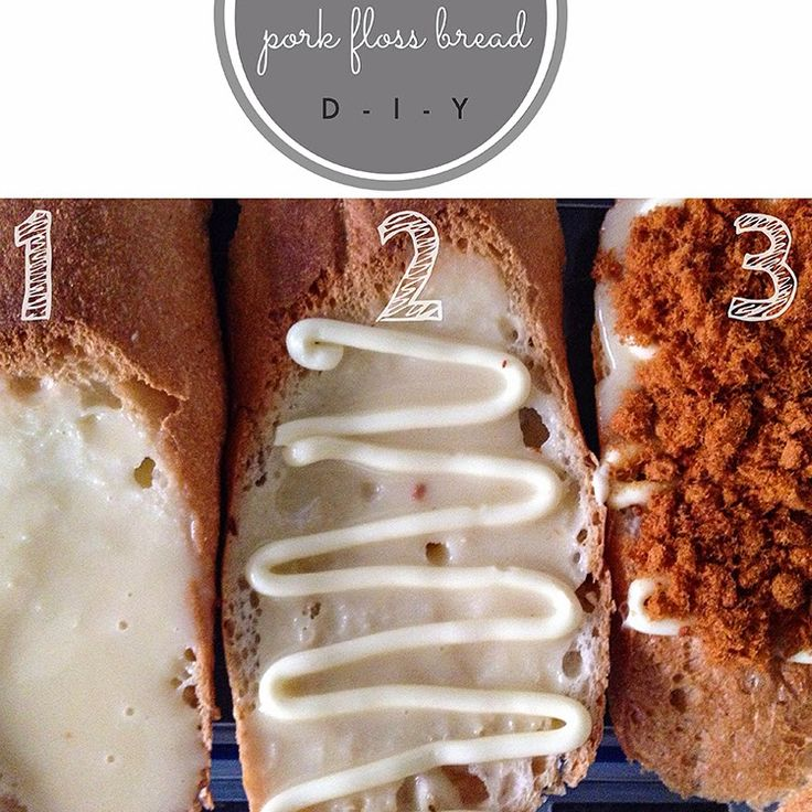 The Phenomenal Mama: DIY pork floss bread. Bread Talk recipe hack