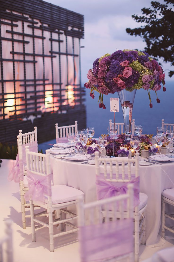 purple themed bridal shower%0A Ronald and Evelyn u    s Colourful Wedding With Chinoiserie Touches