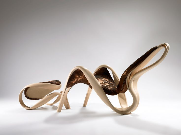 Incredible wooden furniture designs. I wish I had an eye for this sort of thing.