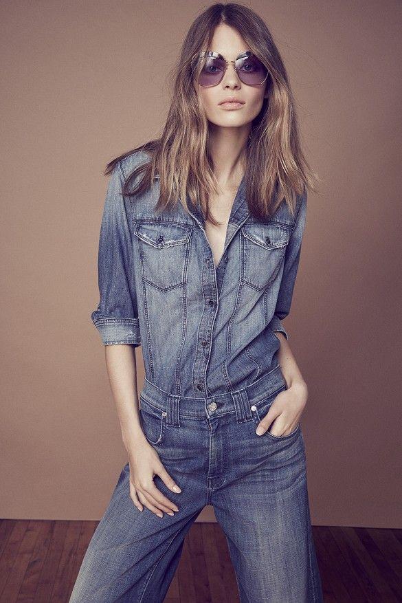 Miranda Kerr Reveals 5 Ways to Wear Denim Like an Icon via @WhoWhatWear