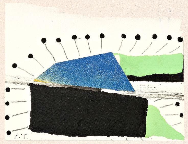 """Nell'ambito della mostra di #EnricoDellaTorre, sabato 22 ottobre, alle ore 18.00, si terrà in Galleria la presentazione del libro di #GuidoMambella, """"Gioseffo Zarlino e la scienza della musica nel '500 dal numero sonoro al corpo sonoro"""" (Istituto Veneto di Scienze Lettere ed Arti, 2016). Presentano Cesarino Ruini e Monica Boni. Seguirà aperitivo. Siete tutti invitati! Nella foto: Enrico Della Torre, Costruzione, 2011, collage e inchiostro su carta su tavola, cm. 14x18,5. #InContemporaneaRE"""