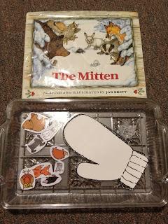Nestpirations: Preschool Pizzazz - The Mitten, Letter R