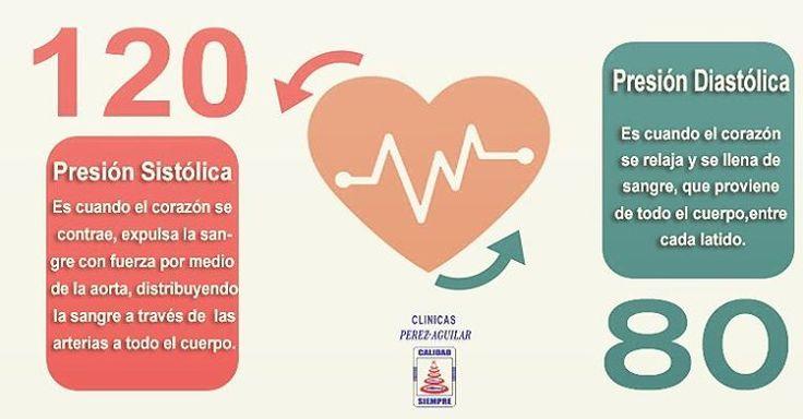 La presión arterial tiene dos valores de medición: sistolico y diastolico. El valor normal en adultos es de 120/80 mm Hg. #hipertensionarterial #clinicasperezaguilar