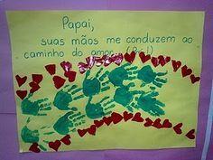 DIA DOS PAIS - MURAIS CARTAZES E EVA - ATIVIDADES PARA IMPRIMIR | PORTAL ESCOLA