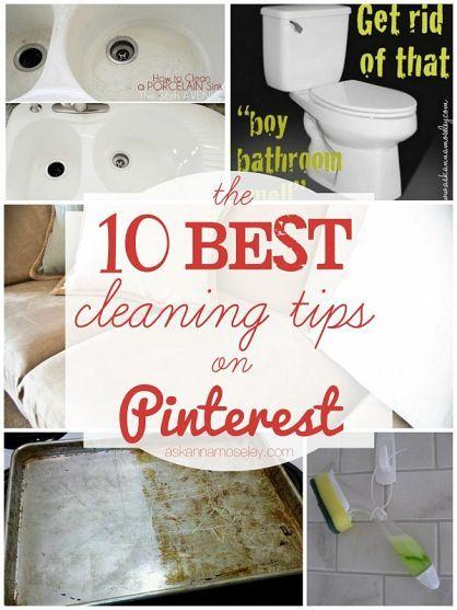 I0 Best Cleaning Tips On Pinterest