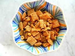 Chex Mix Ideal Protein Chocolate Soy Puffs Ideal Protein Garlic & Onion Soy Nuts Ideal Protein Sea Salt & Vinegar Ridges Makes 3 servings. Mix and enjoy! May use any combination of Ideal Protein products to achieve desired sweet or salty taste! Please follow and like us: