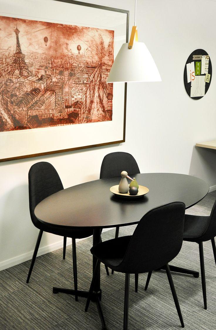 Valentine Interiors + Design. Interior design for Stream Art Design offices, Devonport, Tasmania.