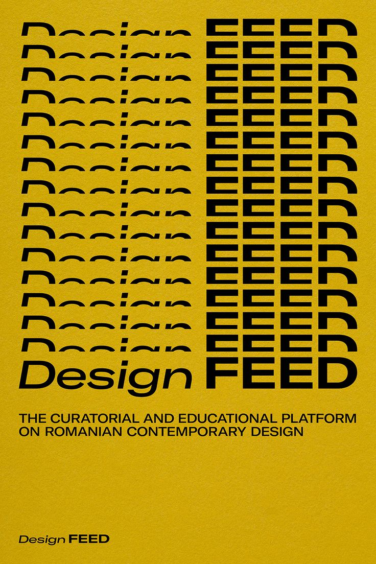 The curatorial and educational platform on Romanian contemporary design.