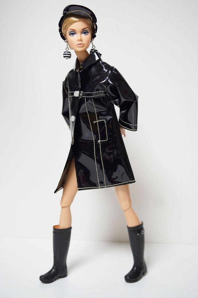 Black raincoat  poppyparker  by RockWan FR