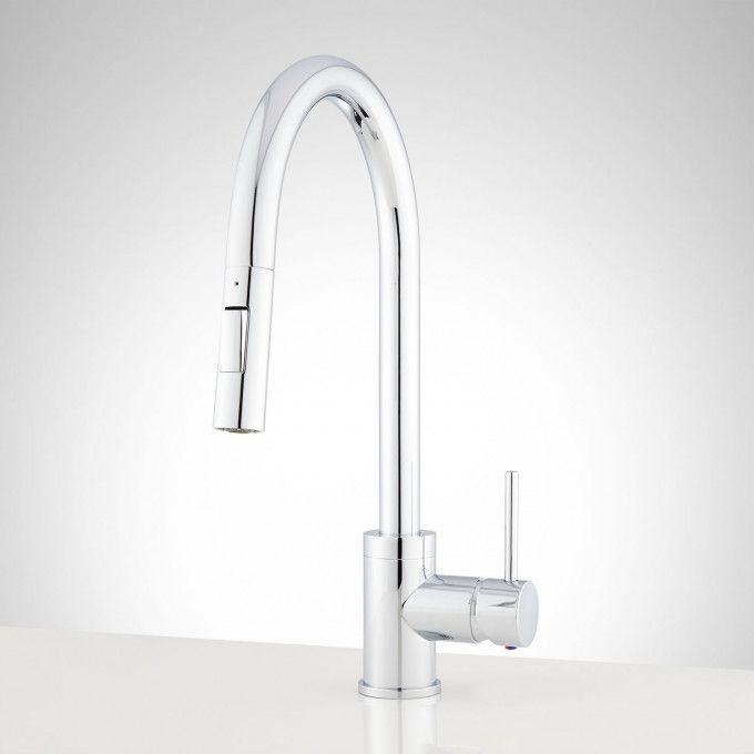 Brushed Nickel Front Kitchenfaucettall Chrome Kitchen Faucet Kitchen Faucet Modern Kitchen Faucet