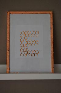Decofoil adhesive pen copper, koperkleurig