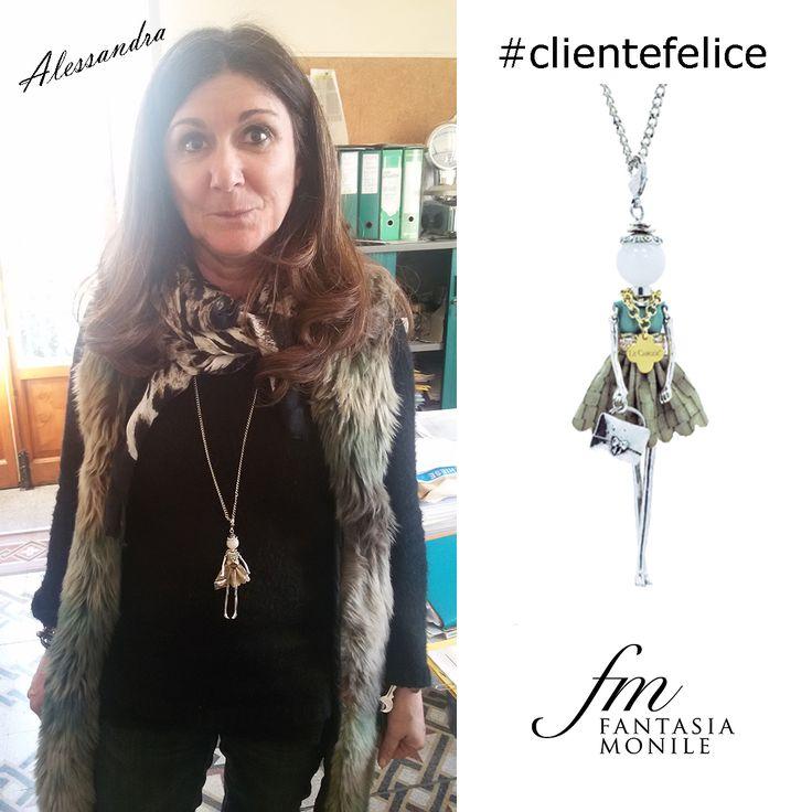 Alessandra ha scelto una collana Le Carose Classic