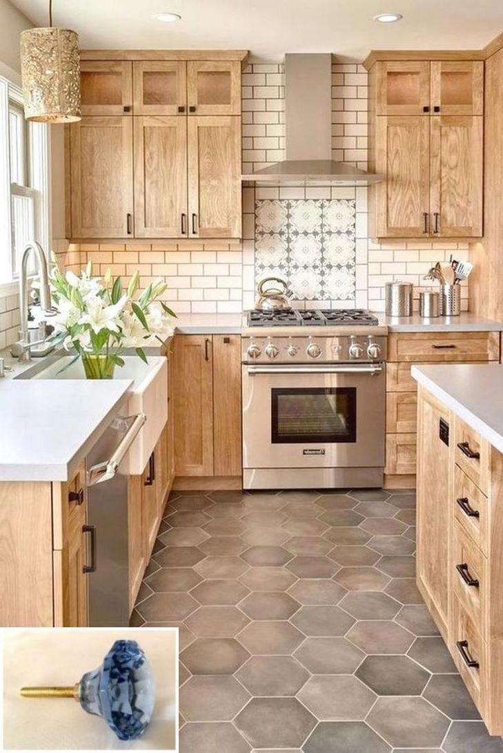 Dark, light, oak, maple, cherry cabinetry and cherry wood kitchen ...