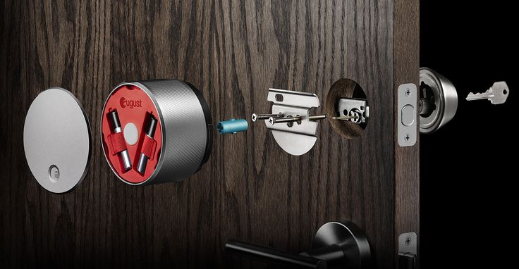 Iot enabled August Smart Locks: Let's your guest in on your request when you are away