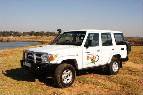 Zuid-Afrika Reiscenter - 4x4 jeep met daktent
