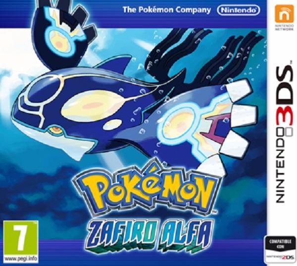 juego 3ds pokemon zafiro alfa