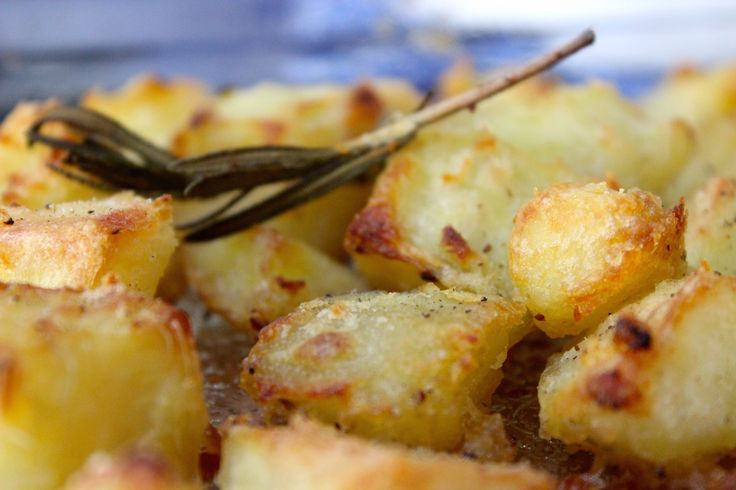 Engelse 'roasted potatoes'