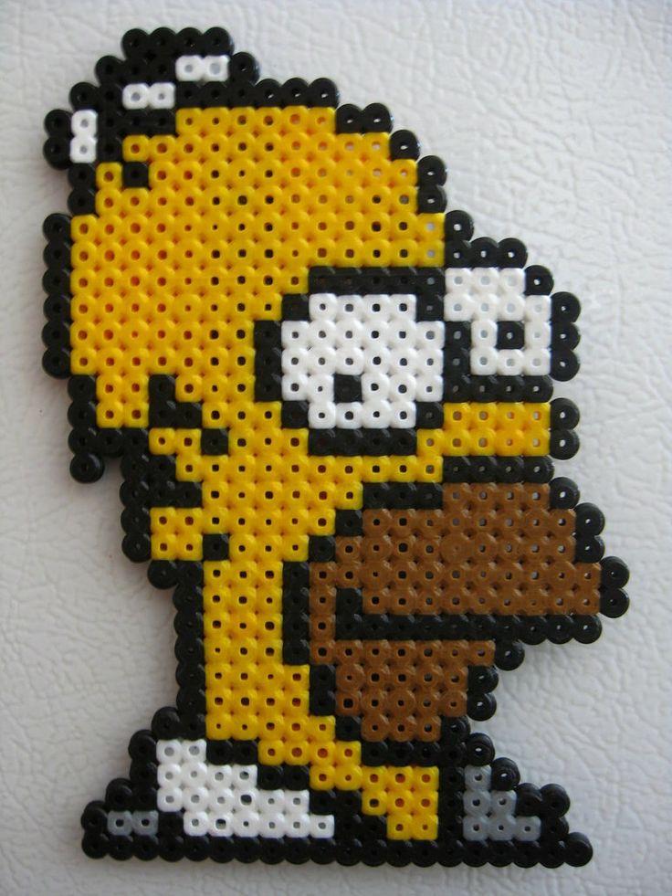 Perler Homer Simpson by Slimer530