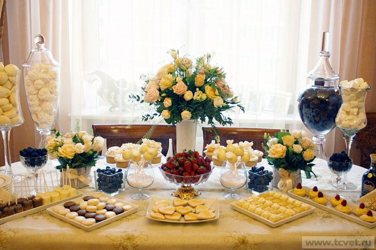 Изысканная свадьба - изысканные десерты