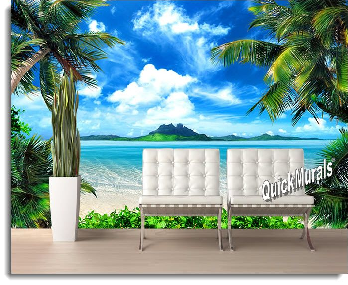 Superior Enchanted Island Peel And Stick Canvas Wall Mural Part 10