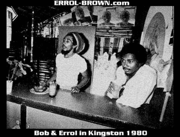 Bob Marley & Errol Brown - Kingston Jamaica 1980.