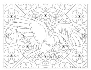 Free Printable Pokemon Coloring Page Fearow Visit Our For More Fun All Ages Adults And Children