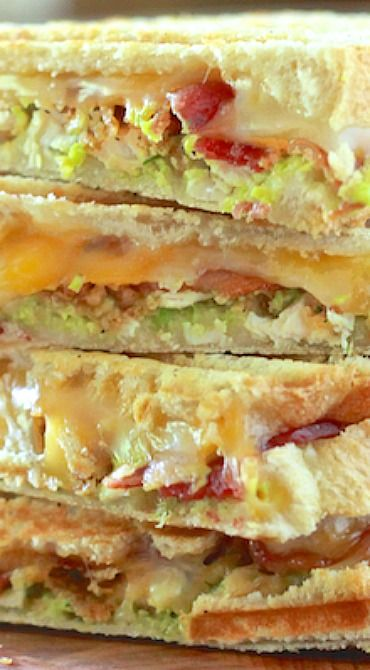Chicken, Bacon and Avocado Panini