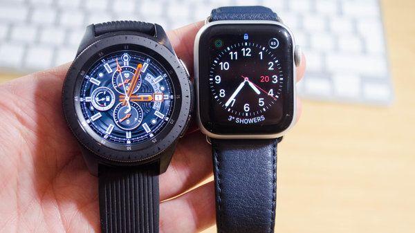 Apple Watch Series 4 Vs Samsung Galaxy Watch Which Is Best For You Apple Watch Series Apple Watch Apple Watch Faces