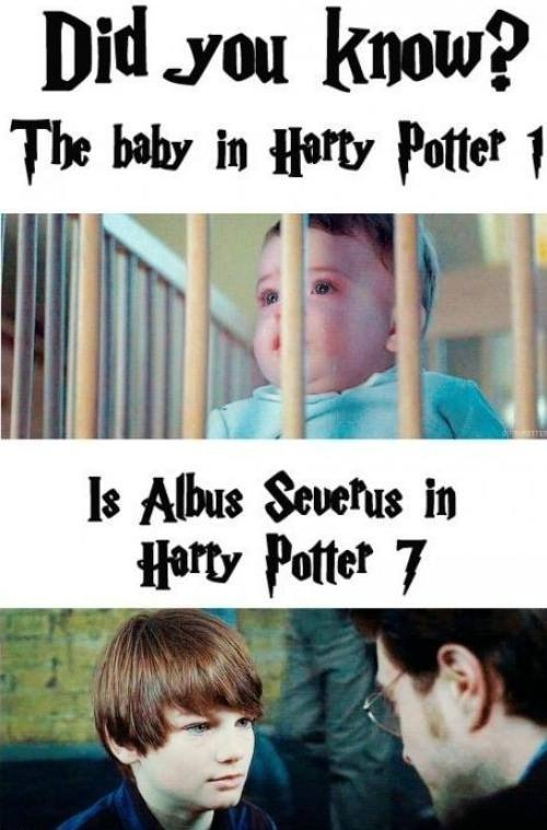 harry potter's son is him in the beginning