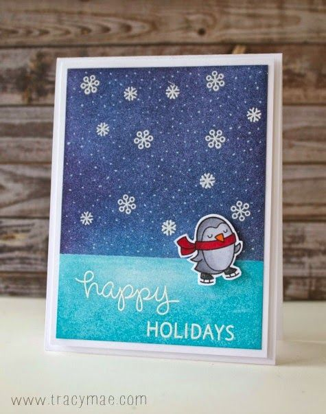 Hello! Welcome back for another Holiday Card Series card and video! Today Im using the Lawn...