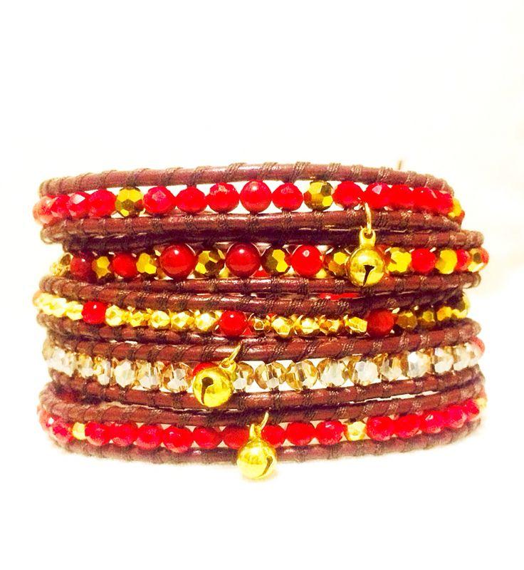 Warp bracelet diy