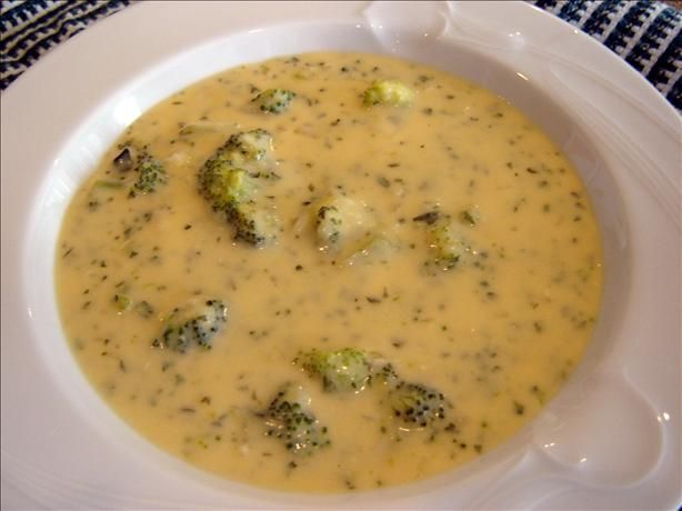 Easy Cheesy Broccoli Soup from Food.com: This is a cheater's version ...