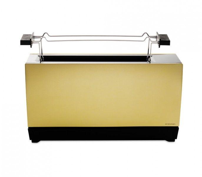 Jacob Jensen toaster One Slot II mat gold black