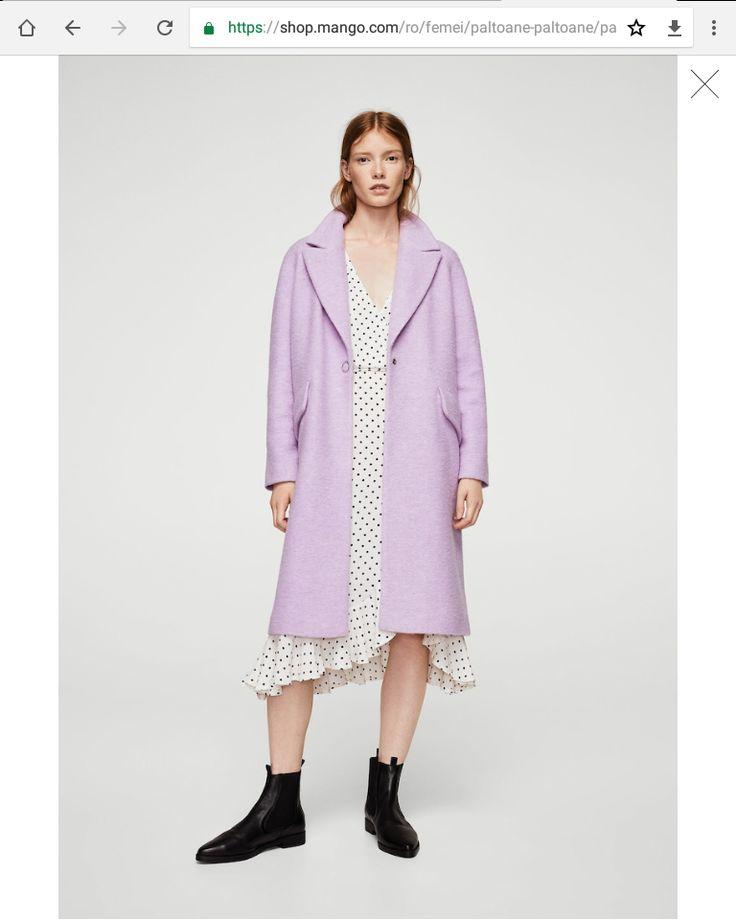 Mango dress and coat