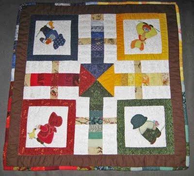 Parchís hecho con patchwork.