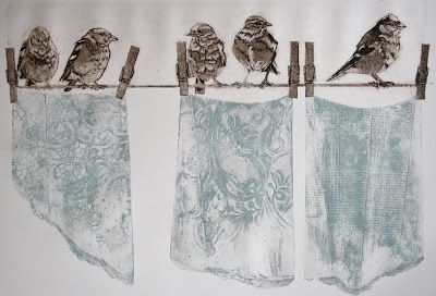 Sue Brown Printmaker: COLLAGRAPH GALLERY More