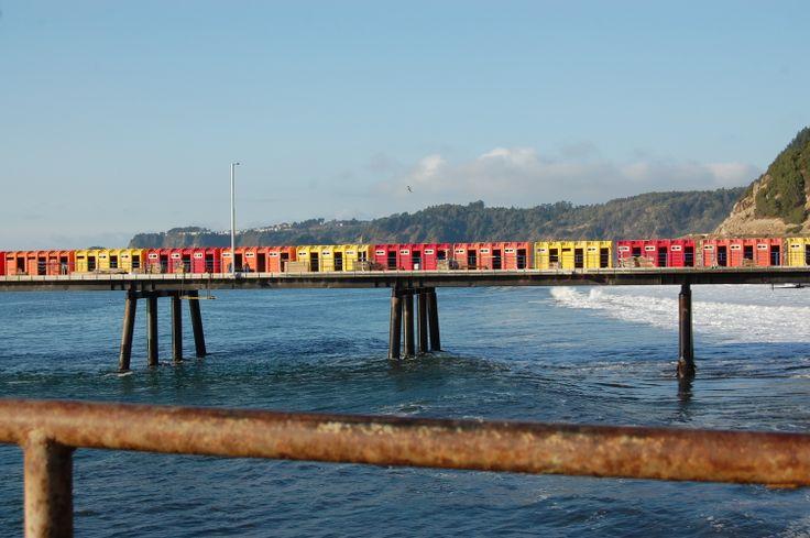 Puerto inrreparable  Maguellines  Constitucion Region del Maule  Chile